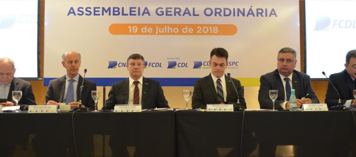 Líderes dos Sistema CNDL realizam Assembleia Geral Ordinária em Brasília